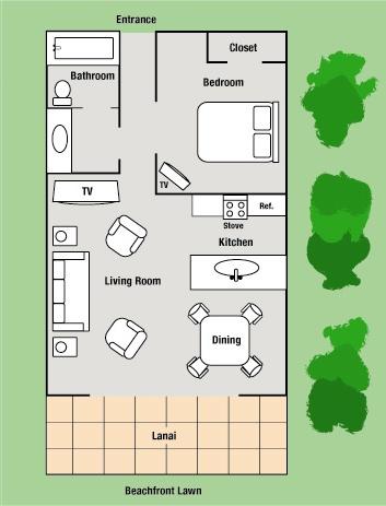 Kiahuna Hawaii Vacation Rentals 181 Location Amp Floorplan